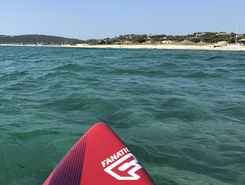 St trop pampelone paddle board spot in France