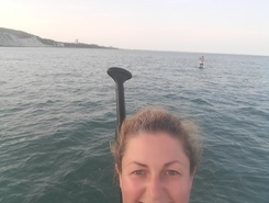 Beachy head  sitio de stand up paddle / paddle surf en Reino Unido