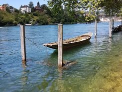 Schaffhausen paddle board spot in Switzerland