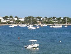 porto colom  paddle board spot in Spain