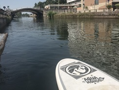 Trezzano  paddle board spot in Italy