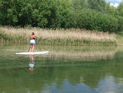 Manvers Lake spot de stand up paddle en Royaume-Uni