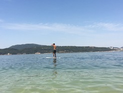 Baía de Setúbal spot de stand up paddle en Portugal