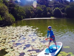 Lac de Mouriscot Biarritz paddle board spot in France