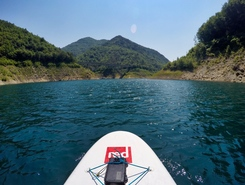 Valvestino sitio de stand up paddle / paddle surf en Italia