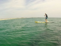 anse du letty paddle board spot in France