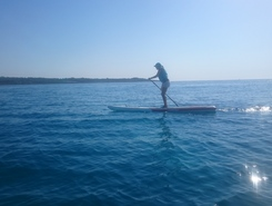 S'Illot sitio de stand up paddle / paddle surf en España