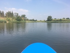 Sant Pere Pescadors paddle board spot in Spain