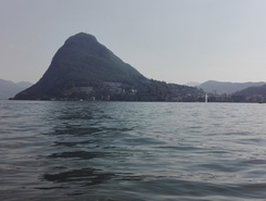 lugano lake spot de stand up paddle en Suisse