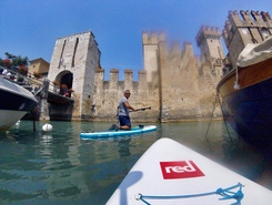 Sirmione paddle board spot in Italy