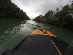 Aare Auenstein spot de stand up paddle en Suisse