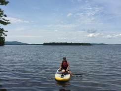 Lac Brome spot de stand up paddle en Canada