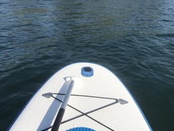 Lago di Vico paddle board spot in Italy