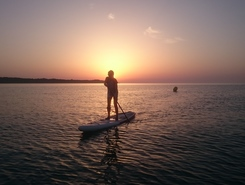 S'Illot paddle board spot in Spain