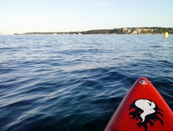 palm beach sitio de stand up paddle / paddle surf en Francia