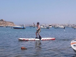 Mistra paddle board spot in Malta