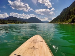 Sylvenstein See  paddle board spot in Germany