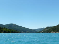 Lac de Castillon spot de stand up paddle en France