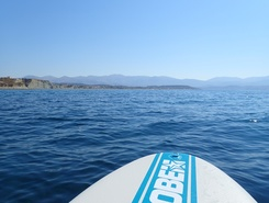 Kounopetra beach  paddle board spot in Greece
