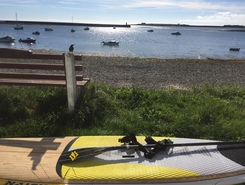 Derbyhaven paddle board spot in Isle of Man