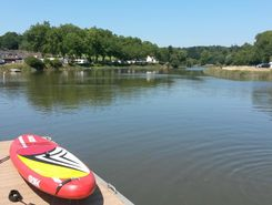 hennebont  paddle board spot in France