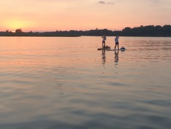 Jimmerson Lake paddle board spot in United States