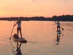 Jimmerson Lake sitio de stand up paddle / paddle surf en Estados Unidos