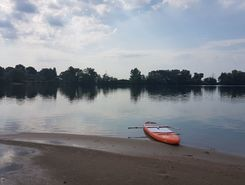 silbersee  sitio de stand up paddle / paddle surf en Alemania