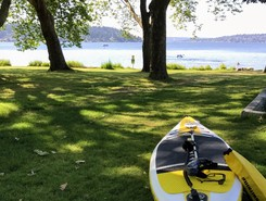 Seward Park sitio de stand up paddle / paddle surf en Estados Unidos