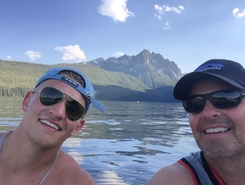 Redfish Lake spot de SUP em Estados Unidos