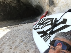 Spiaggia di ziu martine paddle board spot in Italy