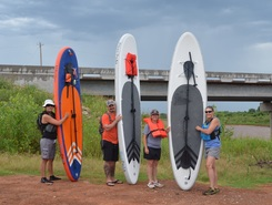 cimarron river sitio de stand up paddle / paddle surf en Estados Unidos