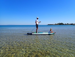Kounopetra beach  sitio de stand up paddle / paddle surf en Grecia