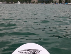 enge paddle board spot in Switzerland