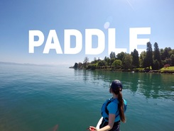 Publier (Lac Léman) paddle board spot in France