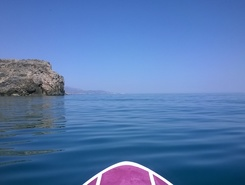 surf heaven supareaki spot de stand up paddle en Grèce