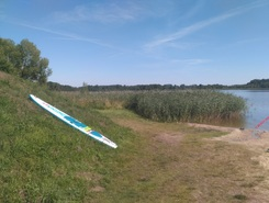 Cichowo paddle board spot in Poland