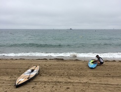 Port blanc  sitio de stand up paddle / paddle surf en Francia