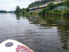 Vltava sitio de stand up paddle / paddle surf en República Checa