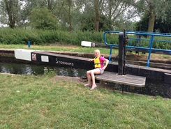 River Chelmer - Chelmsford to paper mill lock paddle board spot in United Kingdom