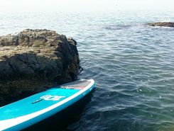 carvajal paddle board spot in Spain