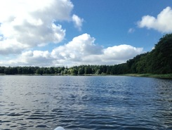 Zotzensee paddle board spot in Germany