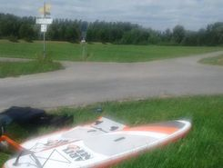 Donau sitio de stand up paddle / paddle surf en Alemania