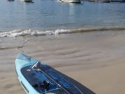 sup arraial do cabo paddle board spot in Brazil