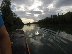Aare Rupperswil spot de stand up paddle en Suisse