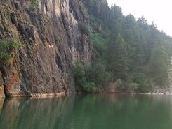 Causey reservoir  paddle board spot in United States