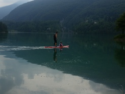 Barcis  sitio de stand up paddle / paddle surf en Italia
