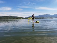 Lake Dillon paddle board spot in United States