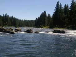 Deschutes river  sitio de stand up paddle / paddle surf en Estados Unidos