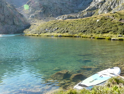 Lac Autier paddle board spot in France